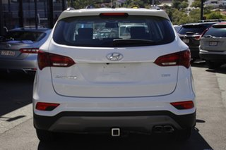 2017 Hyundai Santa Fe DM4 MY18 Active White 6 Speed Sports Automatic Wagon