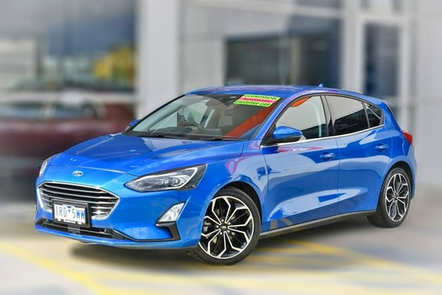 Used Ford Focus SA 2020.25MY Titanium Berwick, 2020 Ford Focus SA 2020.25MY Titanium Blue 8 Speed Automatic Hatchback