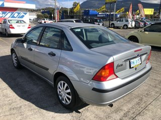 2003 Ford Focus LR MY2003 CL Silver 4 Speed Automatic Hatchback