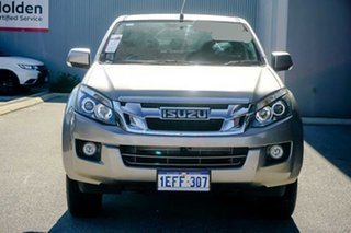 2013 Isuzu D-MAX MY12 LS-M Crew Cab Beige 5 Speed Manual Utility