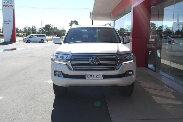 Pre-Owned Toyota Landcruiser VDJ200R Sahara Swan Hill, 2017 Toyota Landcruiser VDJ200R Sahara White 6 Speed Sports Automatic Wagon