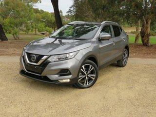 2017 Nissan Qashqai J11 Series 2 ST-L X-tronic Silver 1 Speed Constant Variable Wagon