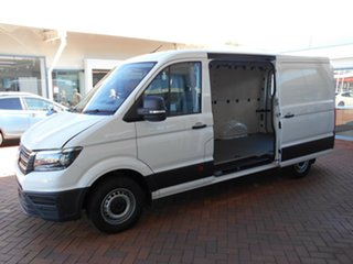2020 Volkswagen Crafter SY1 MY21 35 MWB FWD TDI340 Candy White 8 Speed Automatic Van
