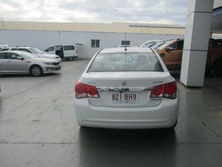 2014 Holden Cruze JH MY14 Equipe White 6 Speed Automatic Sedan.