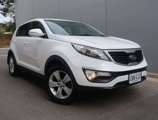 Used Kia Sportage SL SI Reynella, 2010 Kia Sportage SL SI White 6 Speed Sports Automatic Wagon