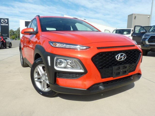 Pre-Owned Hyundai Kona OS.2 MY19 Active 2WD Blacktown, 2019 Hyundai Kona OS.2 MY19 Active 2WD Tangerinecomet 6 Speed Sports Automatic Wagon