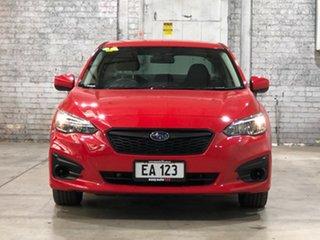 2017 Subaru Impreza G5 MY17 2.0i CVT AWD Red 7 Speed Constant Variable Sedan.