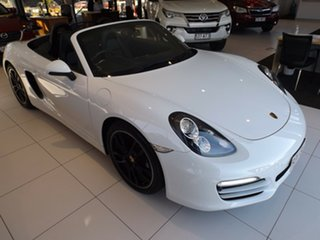 2013 Porsche Boxster 981 PDK White 7 Speed Sports Automatic Dual Clutch Convertible