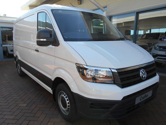 New Volkswagen Crafter SY1 MY21 35 MWB FWD TDI340 Toowoomba, 2020 Volkswagen Crafter SY1 MY21 35 MWB FWD TDI340 Candy White 8 Speed Automatic Van