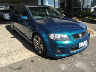 2012 Holden Commodore VE II MY12 SS Green 6 Speed Automatic Sportswagon.