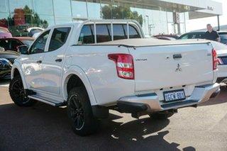 2016 Mitsubishi Triton MQ MY16 GLX Double Cab White 5 Speed Sports Automatic Utility.