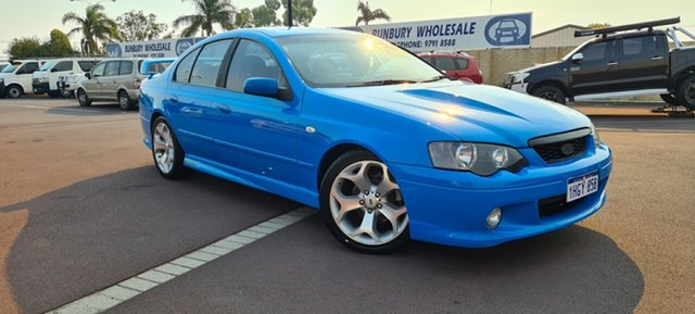 Used Ford Falcon BA Mk II XR6 East Bunbury, 2005 Ford Falcon BA Mk II XR6 Blue 4 Speed Sports Automatic Sedan