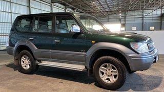1998 Toyota Landcruiser Prado VZJ95R VX Grande Green 4 Speed Automatic Wagon.