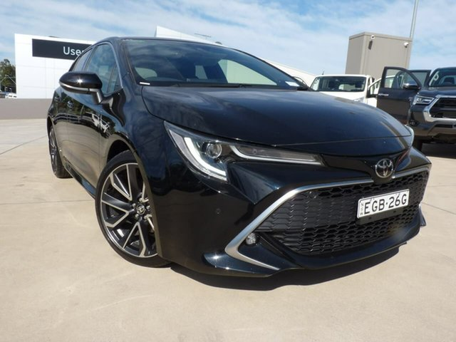 Pre-Owned Toyota Corolla Mzea12R ZR Blacktown, 2019 Toyota Corolla Mzea12R ZR Eclipse Black 10 Speed Constant Variable Hatchback