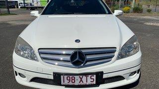 2009 Mercedes-Benz CLC200 Kompressor 203 Evolution White 5 Speed Automatic Coupe.
