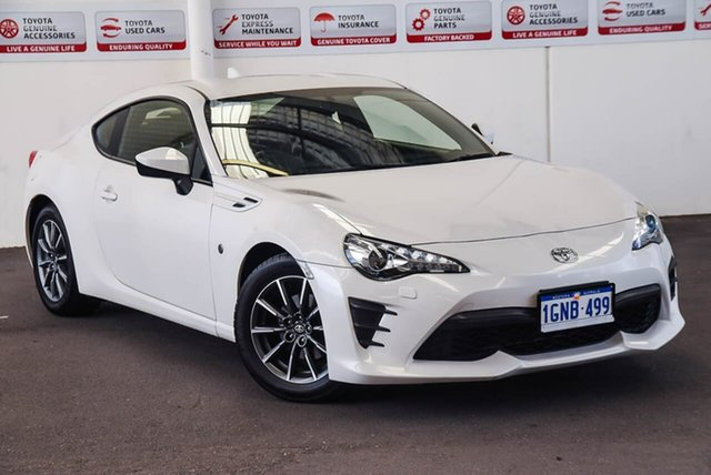 Pre-Owned Toyota 86 ZN6 MY17 Update GT Myaree, 2018 Toyota 86 ZN6 MY17 Update GT White Liquid 6 Speed Manual Coupe