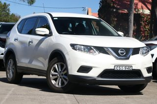 2014 Nissan X-Trail T31 Series 5 ST (FWD) White Continuous Variable Wagon.