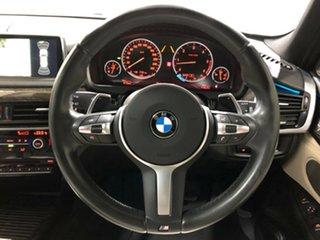2014 BMW X5 F15 xDrive40d Black 8 Speed Sports Automatic Wagon