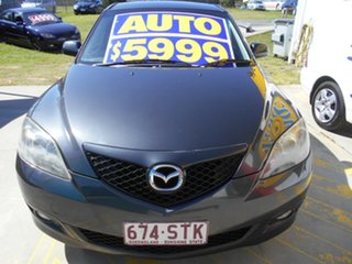 2006 Mazda 3 BK10F1 Maxx Grey 4 Speed Sports Automatic Hatchback.