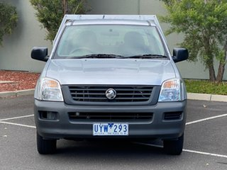 2006 Holden Rodeo RA MY06 DX Crew Cab 4x2 Silver 5 Speed Manual Utility.