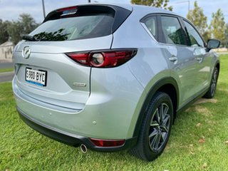 2018 Mazda CX-5 KF4WLA GT SKYACTIV-Drive i-ACTIV AWD Sonic Silver 6 Speed Sports Automatic Wagon