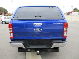 2013 Ford Ranger PX XLT Double Cab Blue 6 Speed Manual Utility