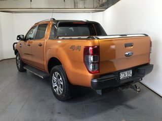 2015 Ford Ranger PX MkII Wildtrak Double Cab Orange 6 Speed Sports Automatic Utility