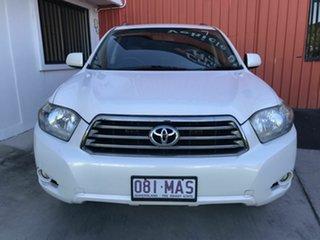 2007 Toyota Kluger GSU40R KX-S 2WD White 5 Speed Sports Automatic Wagon.