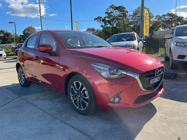 Used Mazda 2 DJ2HAA Genki SKYACTIV-Drive Glendale, 2016 Mazda 2 DJ2HAA Genki SKYACTIV-Drive Red 6 Speed Sports Automatic Hatchback