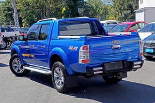 2010 Ford Ranger PK Wildtrak Crew Cab Blue 5 Speed Manual Utility.