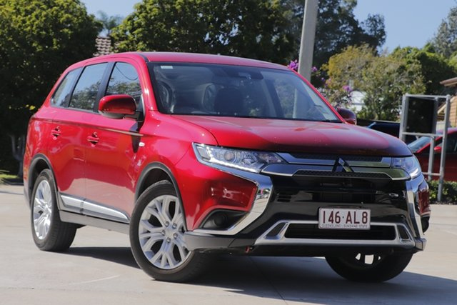 Used Mitsubishi Outlander ZL MY20 ES 2WD Toowoomba, 2020 Mitsubishi Outlander ZL MY20 ES 2WD Red 6 Speed Constant Variable Wagon