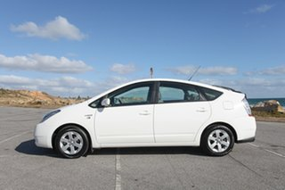 2008 Toyota Prius NHW20R White 1 Speed Constant Variable Liftback Hybrid