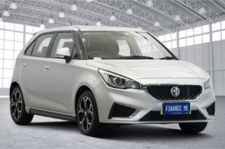 2018 MG MG3 SZP1 MY18 Excite Scottish Silver 4 Speed Automatic Hatchback.