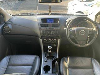 2012 Mazda BT-50 GT (4x4) Grey 6 Speed Manual Dual Cab Utility