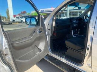 2012 Nissan Navara ST Silver Sports Automatic Dual Cab Utility