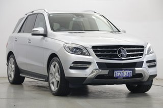 2014 Mercedes-Benz M-Class W166 ML500 7G-Tronic + Silver 7 Speed Sports Automatic Wagon
