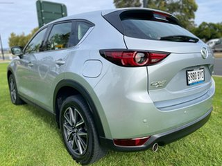 2018 Mazda CX-5 KF4WLA GT SKYACTIV-Drive i-ACTIV AWD Sonic Silver 6 Speed Sports Automatic Wagon.
