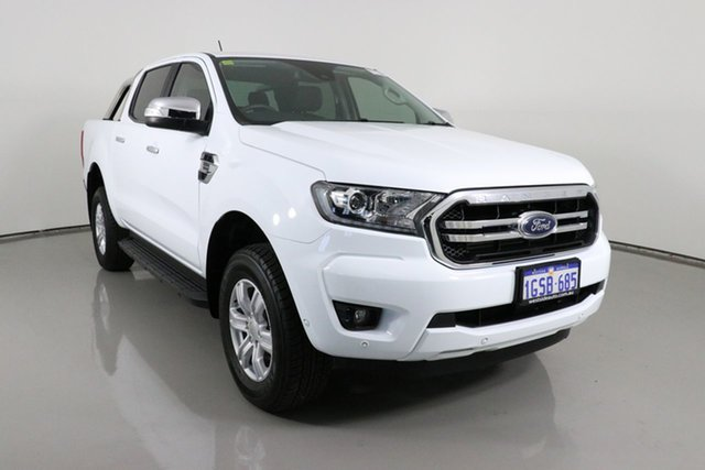 Used Ford Ranger PX MkIII MY19 XLT 2.0 (4x4) Bentley, 2018 Ford Ranger PX MkIII MY19 XLT 2.0 (4x4) White 10 Speed Automatic Double Cab Pick Up