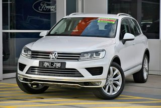 2017 Volkswagen Touareg 7P MY17 V6 TDI Tiptronic 4MOTION White 8 Speed Sports Automatic Wagon