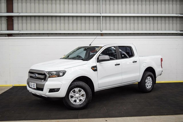 Used Ford Ranger PX MkII 2018.00MY XLS Double Cab Canning Vale, 2018 Ford Ranger PX MkII 2018.00MY XLS Double Cab White 6 Speed Sports Automatic Utility