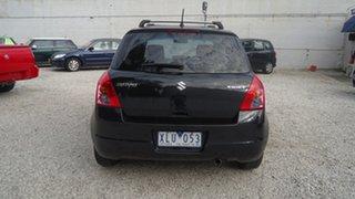 2009 Suzuki Swift RS415 S Black 5 Speed Manual Hatchback.