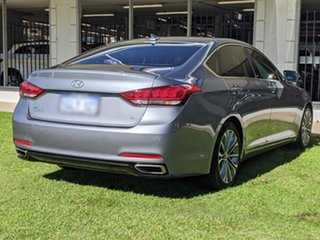 2015 Hyundai Genesis DH Grey 8 Speed Sports Automatic Sedan.