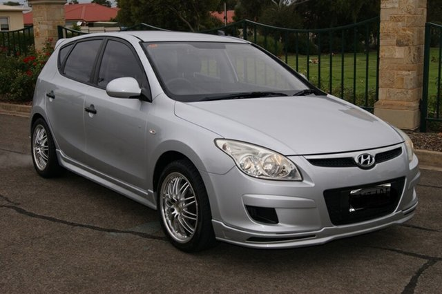 Used Hyundai i30 FD MY09 SX Blair Athol, 2009 Hyundai i30 FD MY09 SX Silver 5 Speed Manual Hatchback