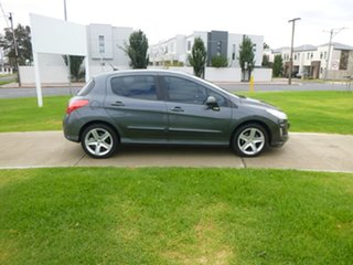 2009 Peugeot 308 T7 XSE Turbo Grey Sports Automatic Hatchback.