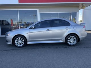 2012 Mitsubishi Lancer CJ MY12 Activ Silver 6 Speed Constant Variable Sedan
