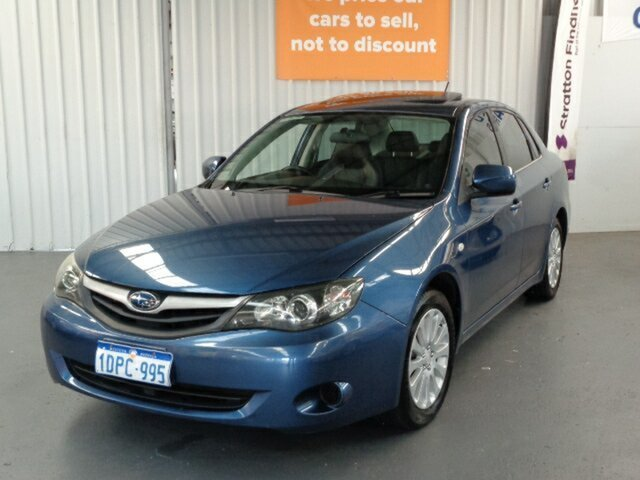 Used Subaru Impreza G3 MY11 R AWD Special Edition Rockingham, 2011 Subaru Impreza G3 MY11 R AWD Special Edition Blue 5 Speed Manual Sedan