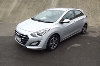 2015 Hyundai i30 GD3 Series II MY16 Active X Silver 6 Speed Manual Hatchback.