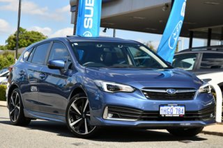 2020 Subaru Impreza G5 MY20 2.0i-S CVT AWD Quartz Blue 7 Speed Constant Variable Hatchback.