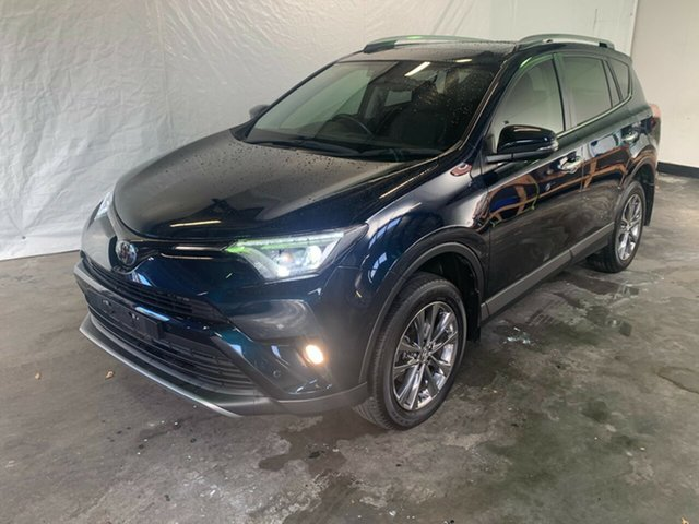 Used Toyota RAV4 ASA44R Cruiser AWD Launceston, 2018 Toyota RAV4 ASA44R Cruiser AWD Blue 6 Speed Sports Automatic Wagon