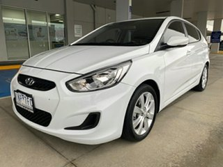 2018 Hyundai Accent RB6 MY18 Sport Chalk White 6 Speed Sports Automatic Hatchback